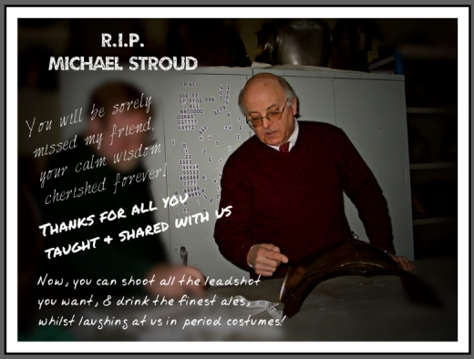 R. I. P. - Michael Stroud, Curator of the Palace Armoury, Valletta, Malta