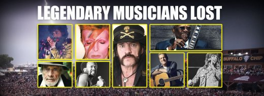LEGENDARY MUSICIANS LOST