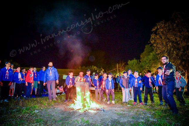 FUN AROUND A SCOUT CAMPFIRE