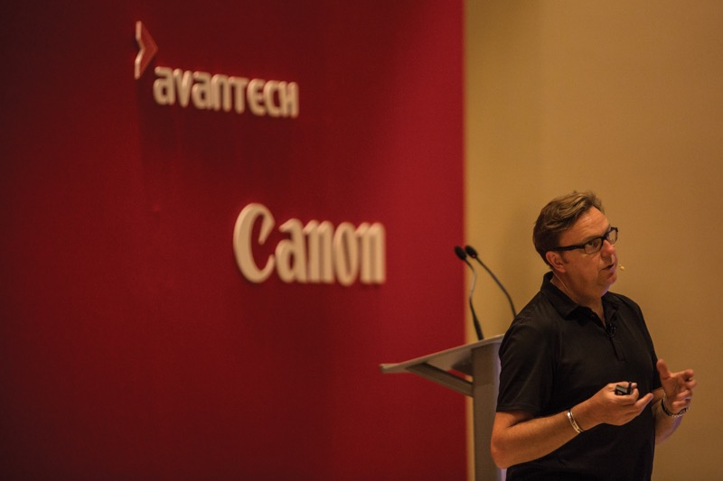 Clive Booth, brand ambassador for Canon